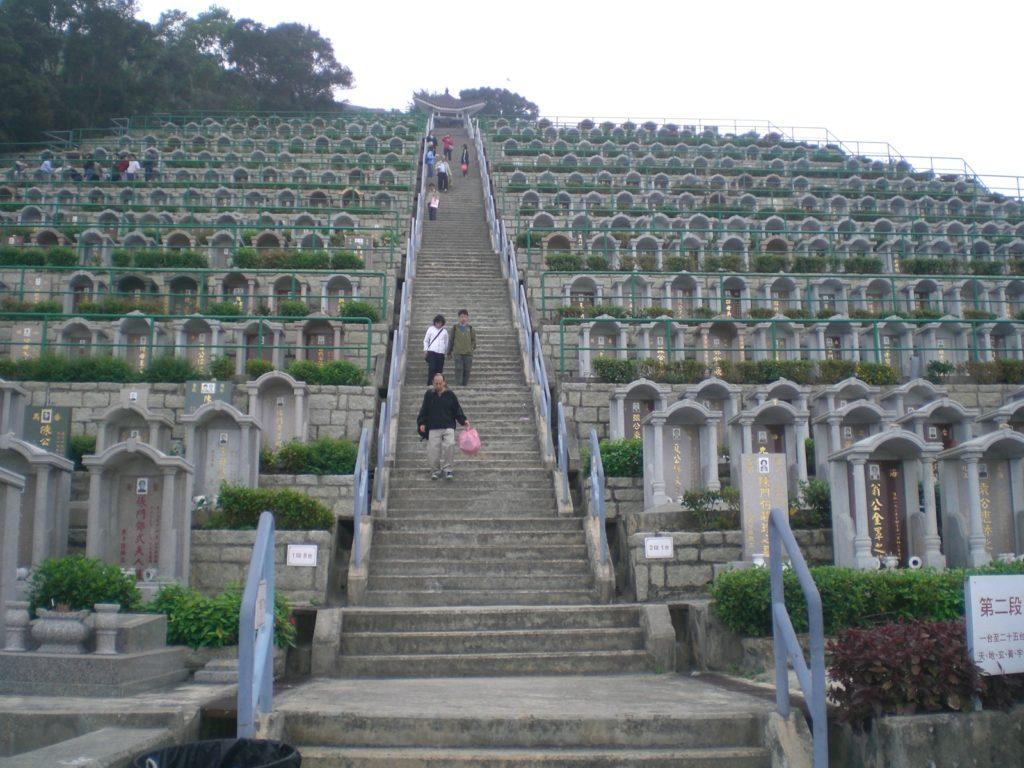 cimitero in cina
