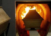feretro per cremazione